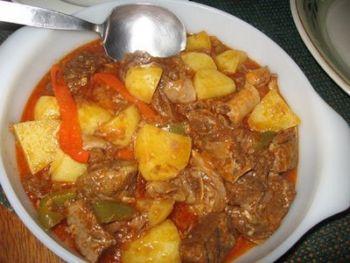 kaldereta-philippine food
